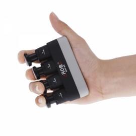 Aroma AHF-03 Portable Guitar Bass Piano Hand Finger Exerciser Medium Tension Hand Grip Trainer for Child Black