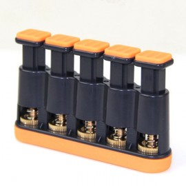 Meideal MFX5 Finger Grip Tension Exerciser for Guitar / Bass / Ukulele / Piano Gray & Black