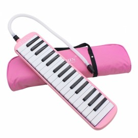 IRIN 32-Key Melodica with Blowpipe & Blow Pipe Pink