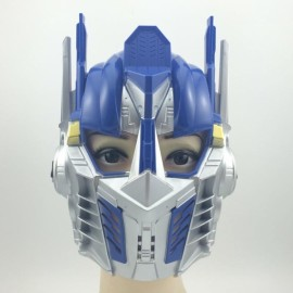 Hot Halloween Masquerade Party Face Mask Blue Transformer Mask