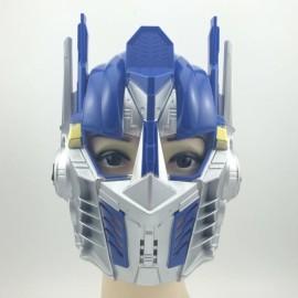 Hot Halloween Masquerade Party Face Mask Blue Transformer Mask