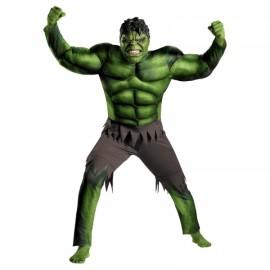 Children Halloween Costume Green Hulk Muscle Cosplay Clothing Green S
