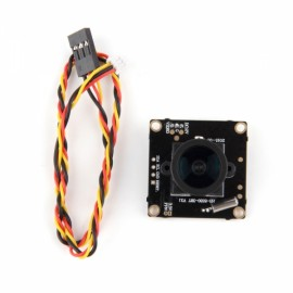 NTSC System HD 700TVL Sony CCD OSD D-WDR Mini CCTV PCB FPV Tiny Wide Angle Camera 2.1mm Lens Black