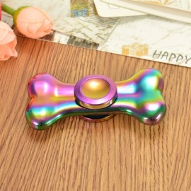 Colorful EDC Hand Spinner Finger Spinner Fidget Gadget Focus Reduce Stress Gadget Bone Shape
