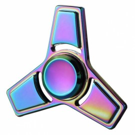 Colorful EDC Hand Spinner Finger Spinner Fidget Gadget Focus Reduce Stress Gadget Dazzle Color Triangle 1 Style