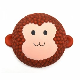Areedy Squishy Jumbo Monkey Cake 15cm Scented Slow Rising Original Packaging Collection Gift Decor - Brown