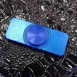 EDC Hand Spinner Gadget Finger Spinner Fidget Focus Reduce Stress Gadget Dark Blue