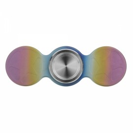 "Fidget TC4 Titanium Alloy Hand Spinner FURA ""Star"" Pattern Colorful"
