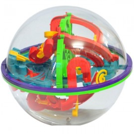 100-Level 3D Magic Maze Ball Intellect Ball Children's Educational Toy Orbit Game Large Size