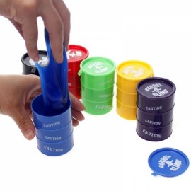 Joke Toy Funny Gadget April Fool Entire Paint Bucket Snivel Mud Silica Gel Toy Size S Random Delivery