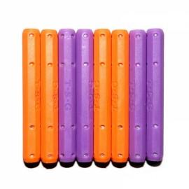 12pcs Magnetic Long Stick Children Educational Toy Assembly Part Random Color