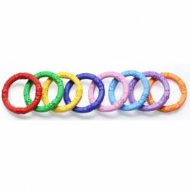 12pcs Children Educational Magnetic Toy Assembly Part Flexural Magnetic Rod Sticks Random Color
