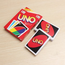 UNO Card Game Playing Card Family Friend Travel Instruction Multicolor