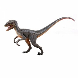TOY High-quality PVC Dinosaur Simulation Velociraptor (Without Pedestal & Package Box)