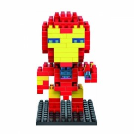 LOZ 130pcs M-9158 Iron Man Building Block Educational Toy Red & Yellow & Blue & Black