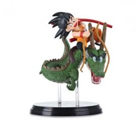 Japan Cartoon Character Dragon Ball Goku Shenron Model Action Figure