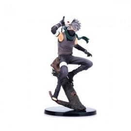 Japan Cartoon Character PVC Figure Model Naruto Kakashi Hatake Action Figure Toy (Dark Side Version) 24cm