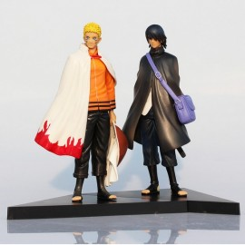 2pcs Janpanese Anime Character Naruto Model Toy Sasuke and Itachi PVC Action Figure #M