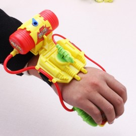 Mini Wrist Water Blaster Gun Children Pool and Beach Toy Random Color
