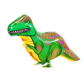 Walking Pet Balloon Kids Children Gifts Party Animal Foil Balloon Dinosaur Style