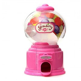 Baby Candy Favors Sweet Candy Dispenser Machine Colorful Piggy Bank Saving Coin Box Pink