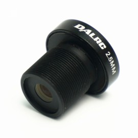 DALRC FPV 2.5mm Lens 120 Degree Wide Angle for Mini Camera