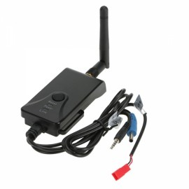 Wireless AV Transmission to Cellphone Wi-Fi Signal Transmitter for FPV Aerial Photography Black