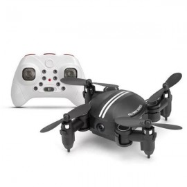 Xgody Z201YS Mini WIFI RC Camera Foldable RC 2.4GHz 6-Axis Gyro 3D Hover Drone FPV Quadcopter Black