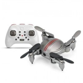 Xgody Z201YS Mini WIFI RC Camera Foldable RC 2.4GHz 6-Axis Gyro 3D Hover Drone FPV Quadcopter Silver