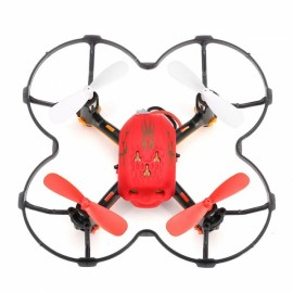 Global Drone GW008 Mini Skull 2.4G 4CH 6Axis Automatic Parallel System 3D Rolling RC Quadcopter Red