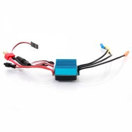 35A 2-3S LiPo Waterproof Brushless ESC with BEC 5V/2A for 1/14 1/16 1/18 Racing Car