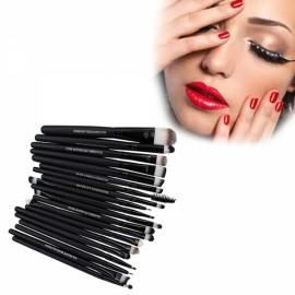 20 Pcs Makeup Brush Set Powder Foundation Eyeshadow Eyeliner Lip Cosmetic Brushes