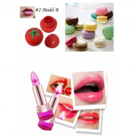 Moisturizing Jelly Lip Stick 1+Tomato Shape Sexy Lip +Moisturizing Nourishing Lip Balm