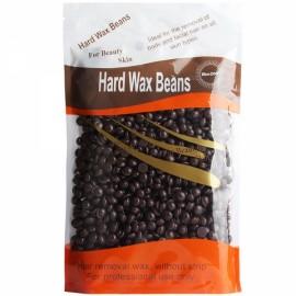 New Arrival 1 Bag Chamomile Flavor No Strip Depilatory Hot Film Hard Wax Pellet Waxing Bikini Hair Removal Bean D26 Chocolate Brown