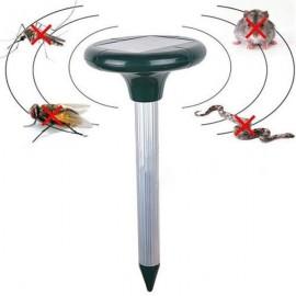 Solar Power Ultrasonic Gopher Mole Snake Mosquito Mouse Pest Repeller for Garden Yard