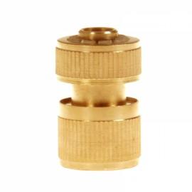 Brass Garden Lawn Water Hose Pipe Fitting Set Connector Tap Adaptor 12mm Golden