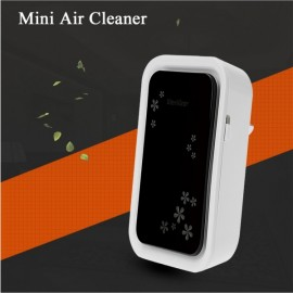 Mini Air Cleaner Ozone Deodorizer Sterilizing Deodorizing Device Black & White