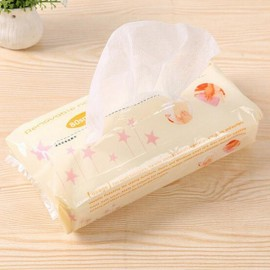 80pcs/set Extraction Style Disposable Non-woven Fabrics Kitchen Cleaning Cloth for Dishes Glasses Window White