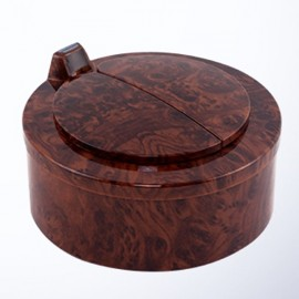 Creative Smart Sensor Desktop Mini Small Trash Can Desktop Fashion Cute Office Storage Box Mahogany