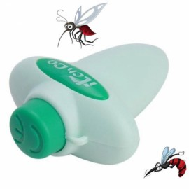 Auto Power Mosquito Bite Relief Anti-Itch Soothe Relieve Itching Gadget Quartz Detumescent Adornment Blue