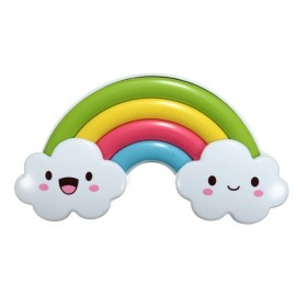 Fantastic Rainbow Bridge Style LED Colorful Voice Control Projector Light Sleep Night Lamp for Kids Multi-color