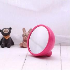 Mirror LED Digital Alarm Clock Portable Multi-Function Clock Pink