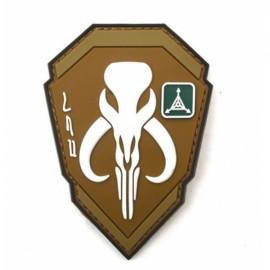 TAD Patch Bounty Hunter Character PVC Armbands Badge Khaki