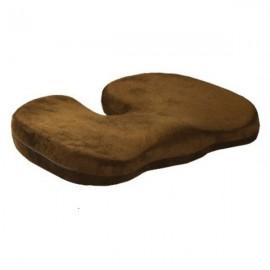 Orthopedics Seat Solution Cushion Memory Foam Back Ache Release Dark Brown