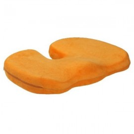 Orthopedics Seat Solution Cushion Memory Foam Back Ache Release Orange