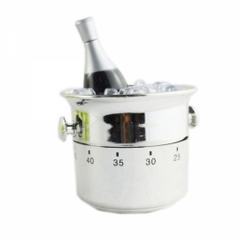 FEIS GS 1001 Champagne Bucket Style Timer Silver