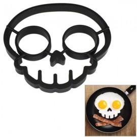 Skull Shaped Fried Egg Mold Die Black