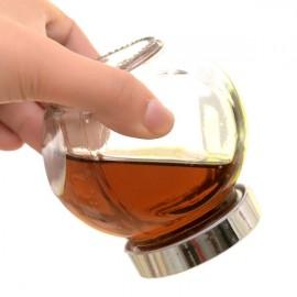 2pcs 380ml Kitchen Snack Tea Coffee Food Seasoning Storage Jar Transparent