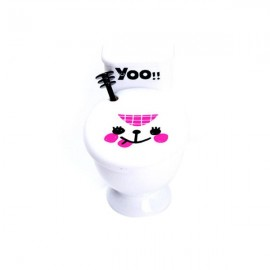 Creative Funny WC Toilet Seat Coffee Tea Cup Mug Snack Holder Water Drinking Cup White