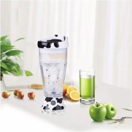 Portable Automatic Self Stirring Mug Coffee Chocolate Milk Mixing Cup Mixer Transparent